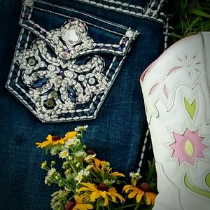 Blingy Cowgirl L.A. Idol jeans